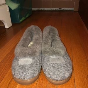 Shoes - Gray ugg slippers